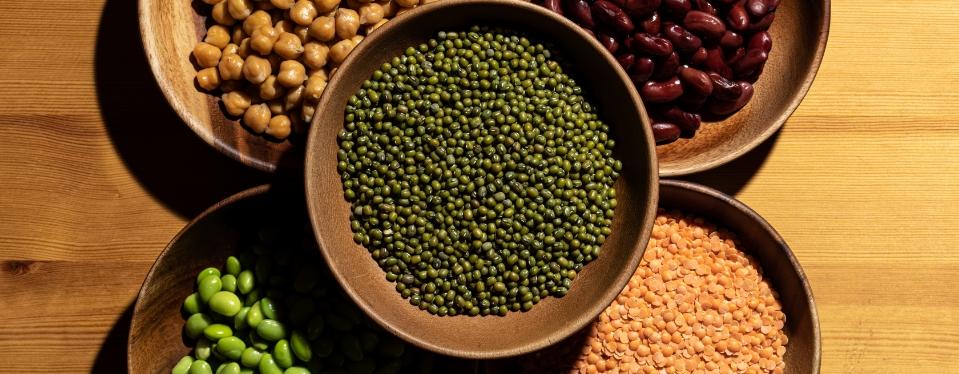 「ムング豆+栄養価の高い豆